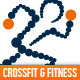 Crossfit and Fitness Logo - GraphicRiver Item for Sale