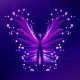 Shiny Butterfly Abstract Vector - GraphicRiver Item for Sale