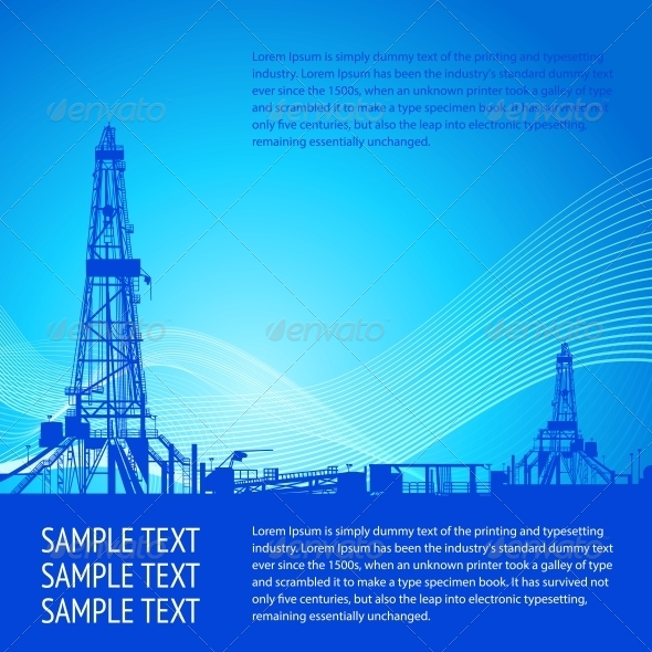 GraphicRiver Industrial Banner For Your Text 4040537