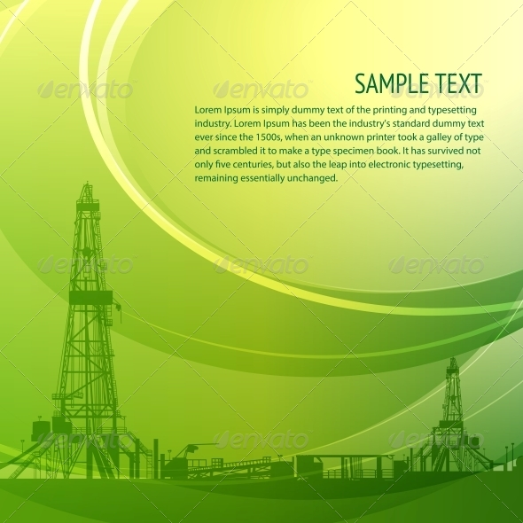 GraphicRiver Industrial Banner For Your Text 4040538