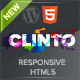 Clinto - HTML5 Responsive WordPress Theme for Events - ThemeForest Item for Sale
