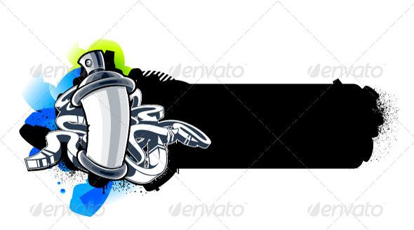 GraphicRiver Graffiti Image 4041319