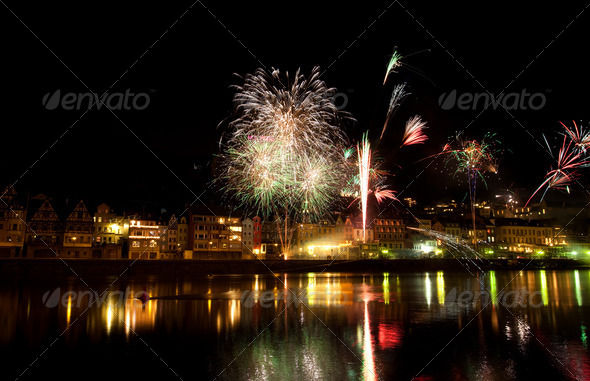 PhotoDune New Years eve firewalks 4102072