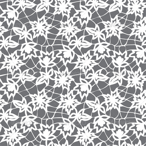 GraphicRiver Floral Seamless Lace Pattern 4043730
