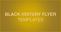 Black History Flyer Templates