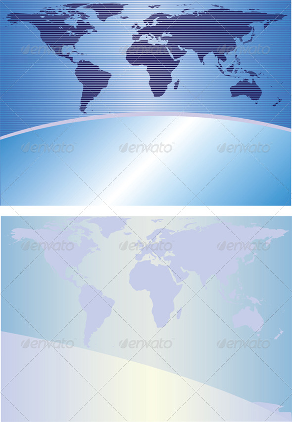 GraphicRiver Globe Backgrounds 4045041