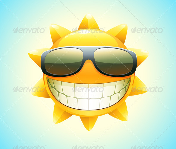 GraphicRiver happy summer sun i 4045129