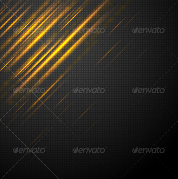 GraphicRiver Shiny yellow abstract stripes 4045744