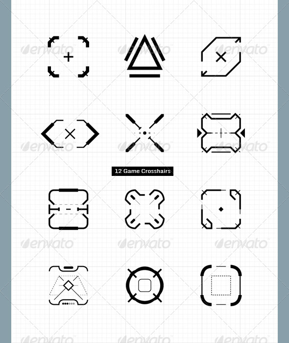 GraphicRiver Game Crosshairs 4000601