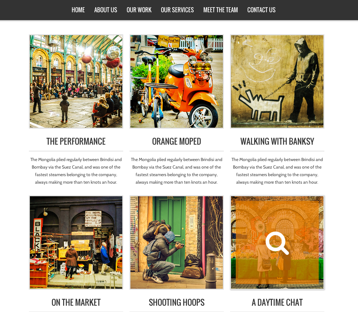 NASH - Responsive HTML5 One Page WordPress Theme
