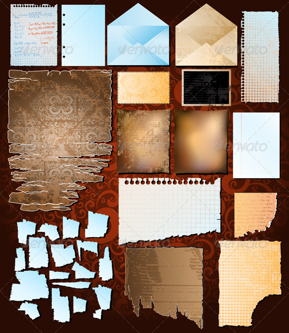 GraphicRiver paper collection 4046298