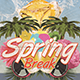 Spring Break Party - GraphicRiver Item for Sale