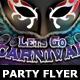 Carnival Party Flyer Template - GraphicRiver Item for Sale