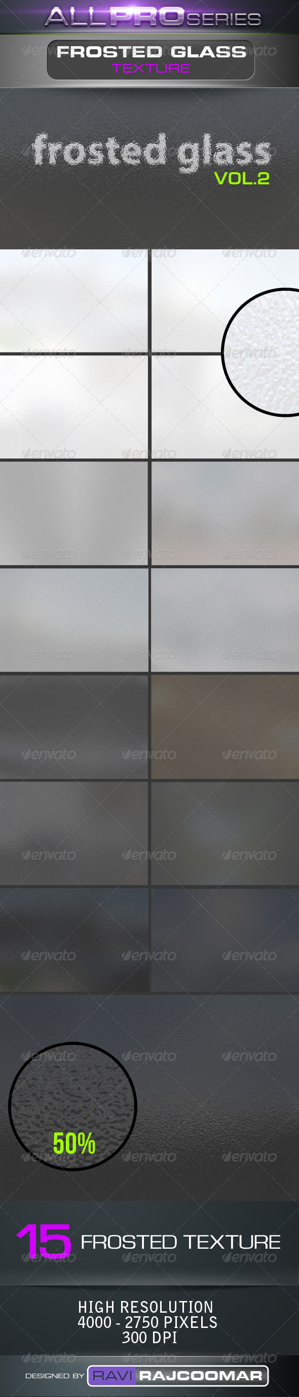 GraphicRiver Frosted Glass Backgrounds Vol.2 4047477
