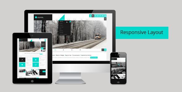 Storm 1.3 - Multipurpose PSD Theme