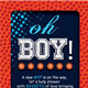 Basketball Baby Shower Invitation & Raffle Ticket - GraphicRiver Item for Sale