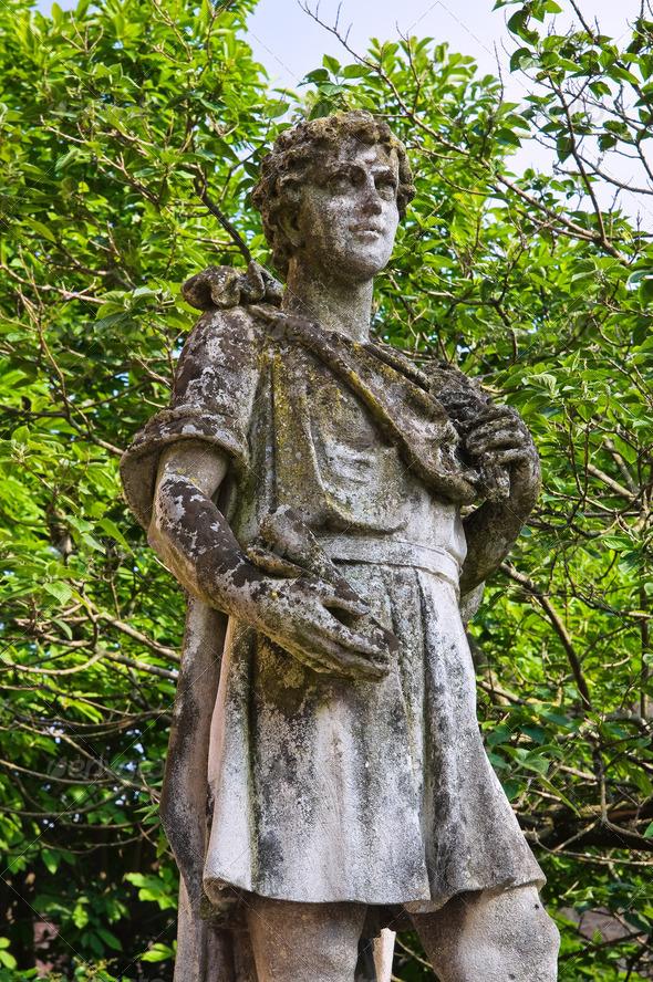 PhotoDune Stone statue Grazzano Visconti Emilia-Romagna Italy 4048787