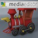Cartoon Train 3d Model - 3DOcean Item for Sale