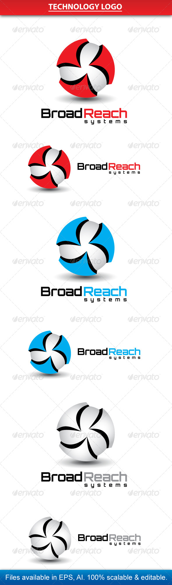 GraphicRiver Technology Logo 3891856