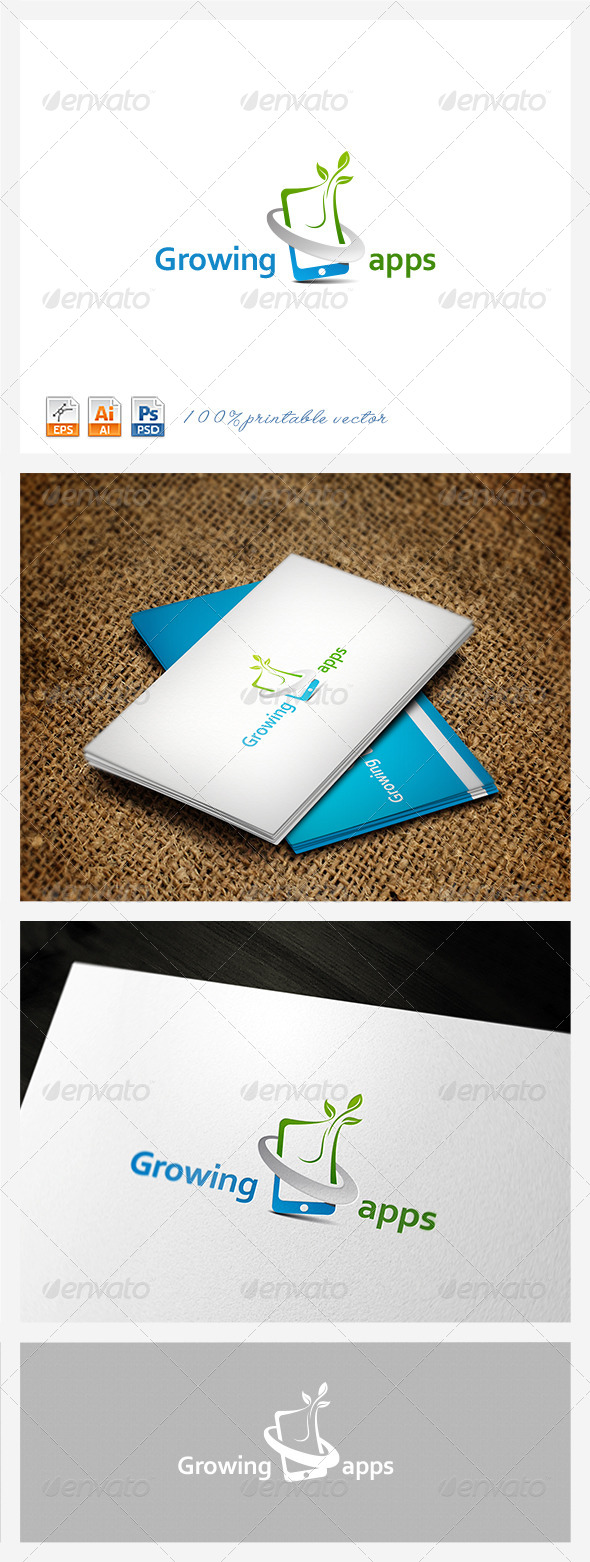 GraphicRiver Growing Apps logo 3879549