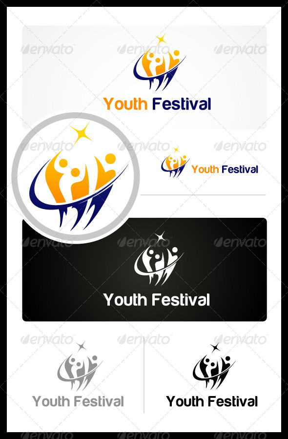 GraphicRiver Youth Festival 3393398