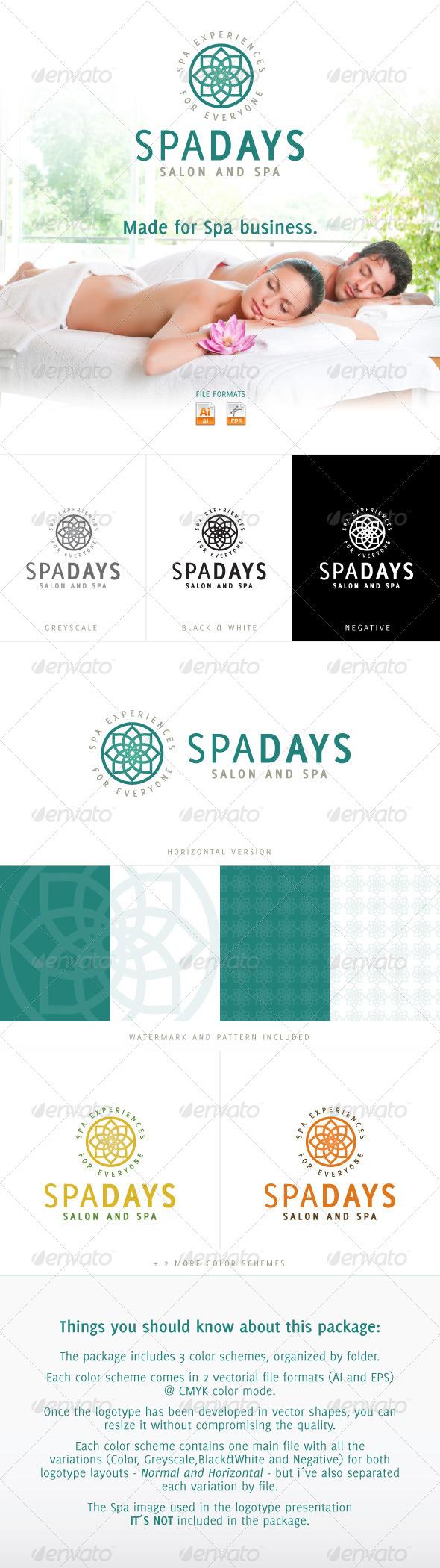 GraphicRiver Spa Days Salon and SPA 4050470