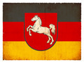 Grunge flag of Lower Saxony (Germany) - PhotoDune Item for Sale