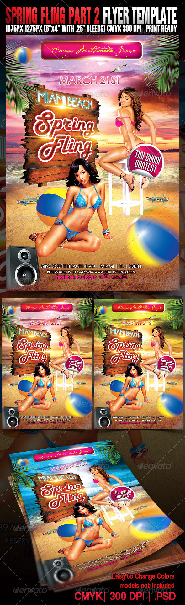 Spring Fling Part 2 - Events Flyers