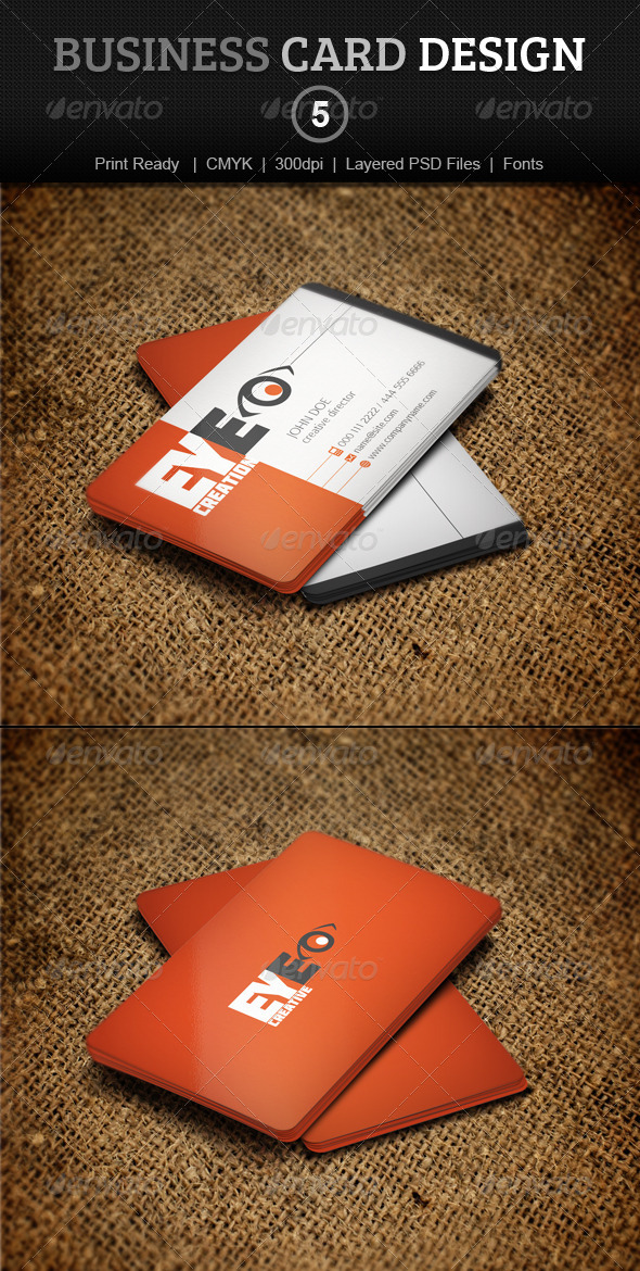 GraphicRiver Business Card Design 5 3938479