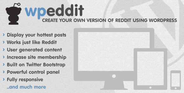 CodeCanyon WPeddit Reddit for WordPress 4053648