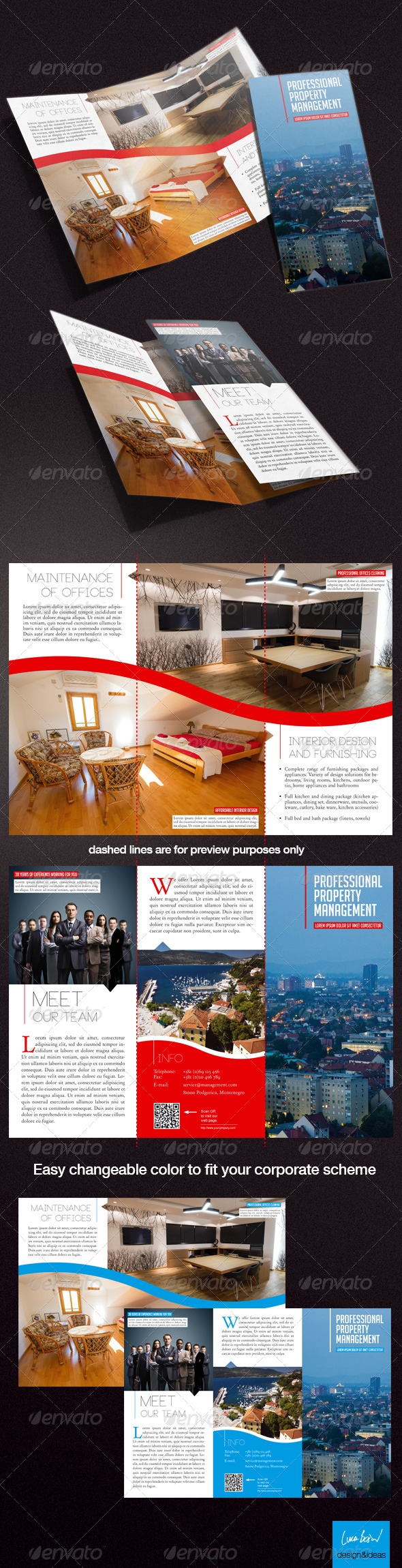 GraphicRiver Property Management Trifold Brochure 4054802