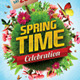 Spring Celebration Flyer Template - GraphicRiver Item for Sale