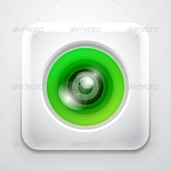 GraphicRiver Colourful Camera App Icon 4055537