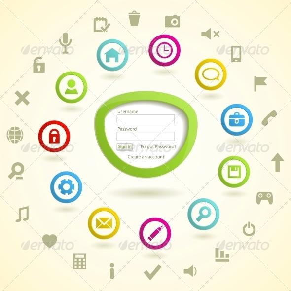 GraphicRiver Web design elemets 4055707