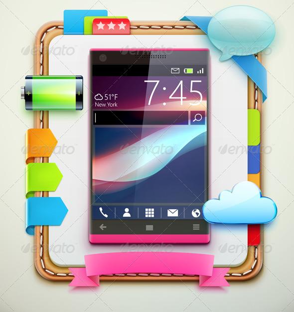 GraphicRiver modern cellphone 4057260