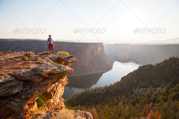 Flaming Gorge - Stock Photo - Images