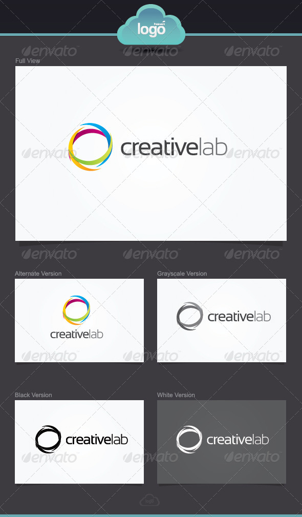 GraphicRiver Creative Lab Logo Template 3938155