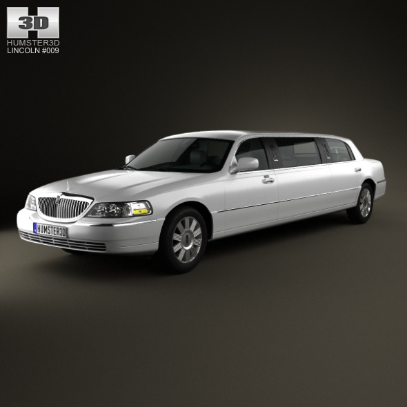 3DOcean Lincoln Town Car Limousine 2011 4057979