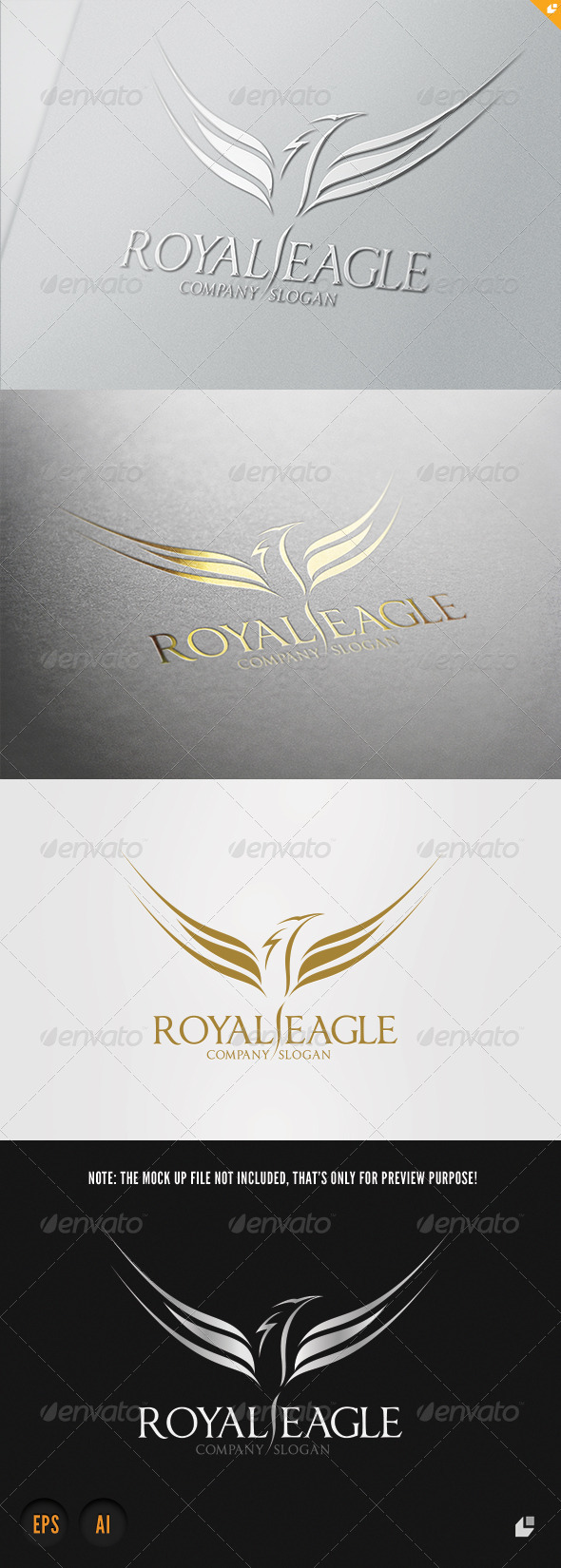 GraphicRiver Royal Eagle Logo 3951708