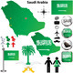 Saudi Arabia map - GraphicRiver Item for Sale