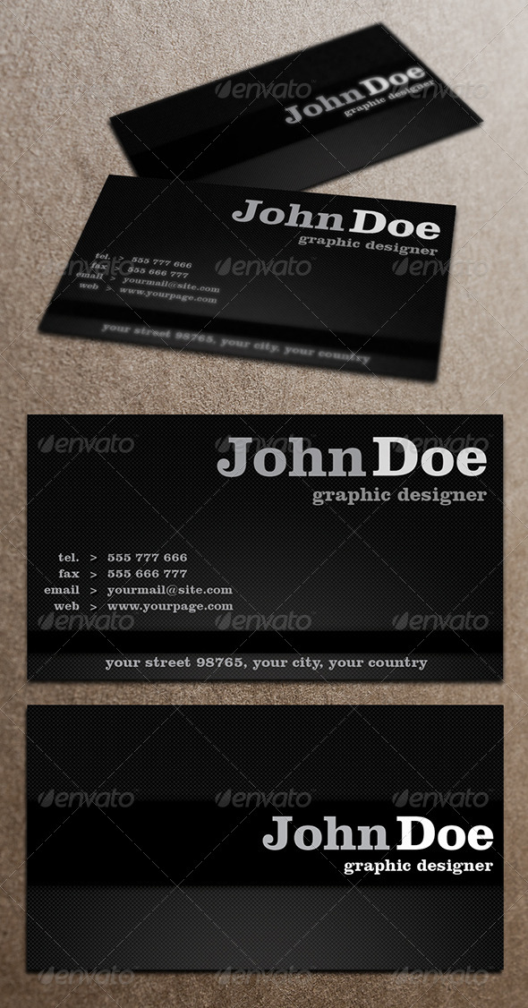 GraphicRiver Business Card 4058327