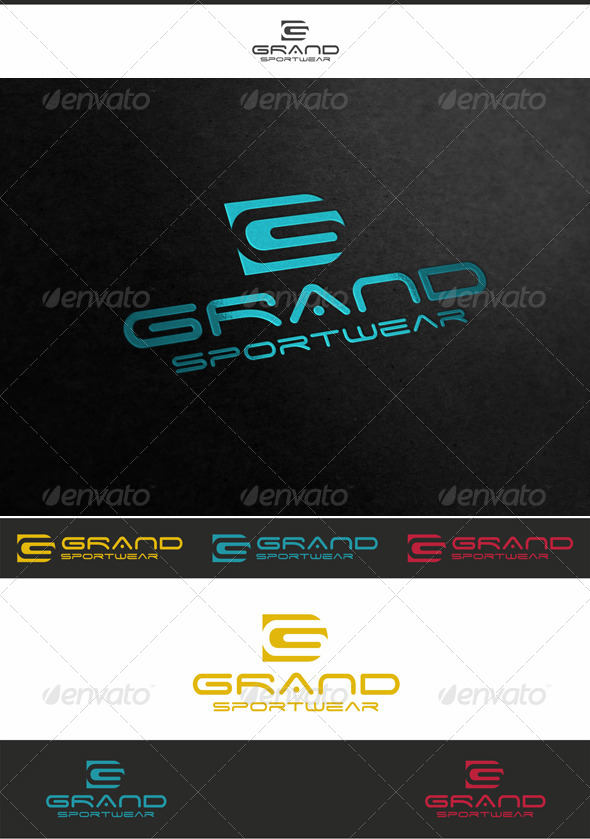 GraphicRiver Grand Sport Logo Letter G 4061026