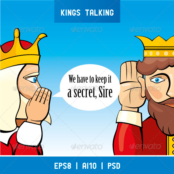 GraphicRiver Kings Talking 4062168