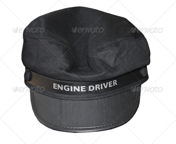 PhotoDune Train Drivers Cap 4082291