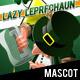 Lazy Leprechaun - Empty Mug!?! Mascot - GraphicRiver Item for Sale