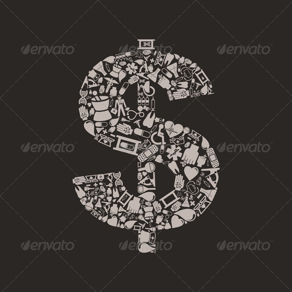 GraphicRiver Medicine Dollar 4063218