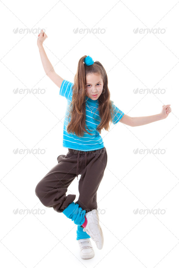 Танцовщица в чешках 7 фотография