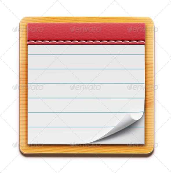 GraphicRiver Notepad 4065219