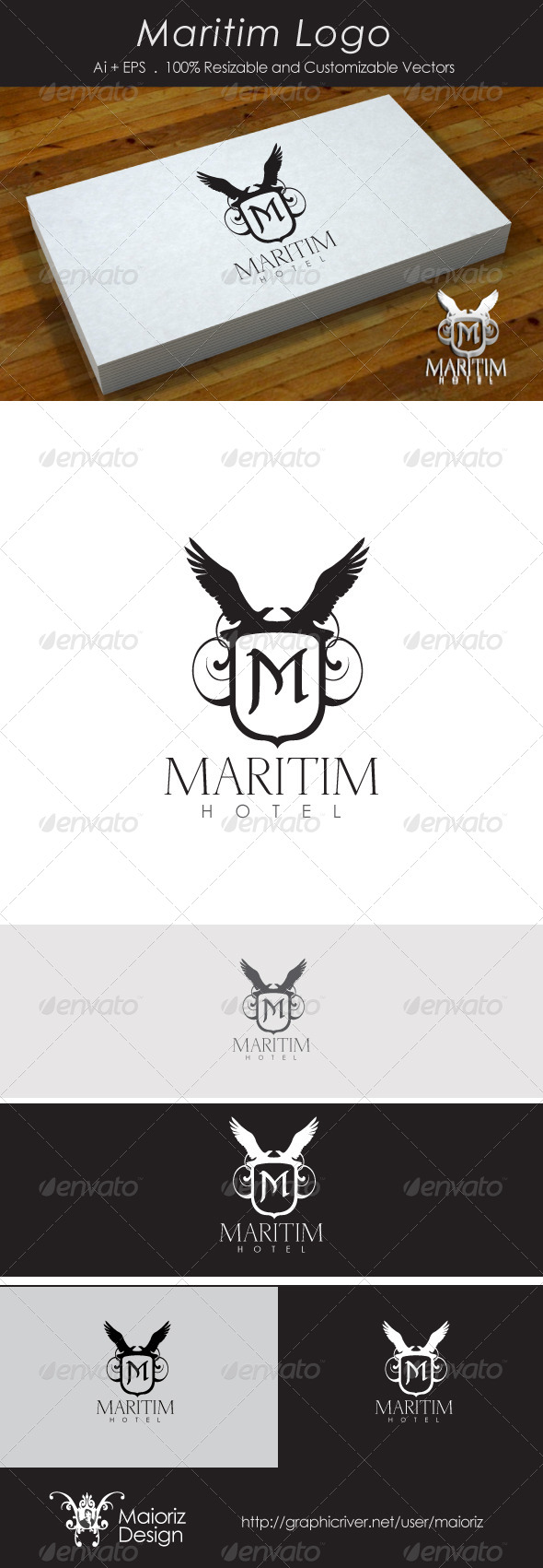 GraphicRiver Maritim Logotype 4065224