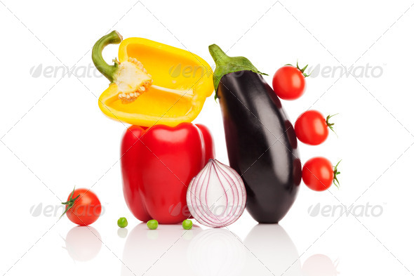 Vegetable symphony. - Stock Photo - Images